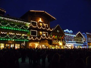 Weiners, Bavarian Bratwurst and Snowshoeing in Leavenworth