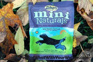 Zuke's Wild Rabbit Mini Naturals Review