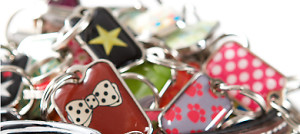 Pet ID Tags With a Heart