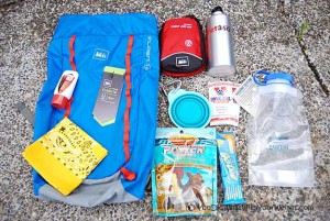 Win What's Inside My Hiking Backpack