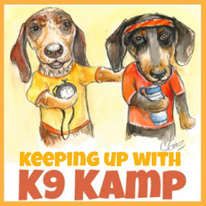 Keeping Up With K9 Kamp Badge