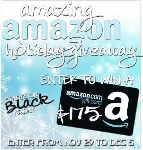 Win a $175 Amazon Gift Card!