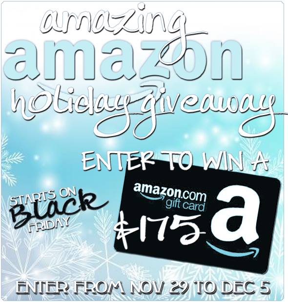 amazing amazon holiday giveaway