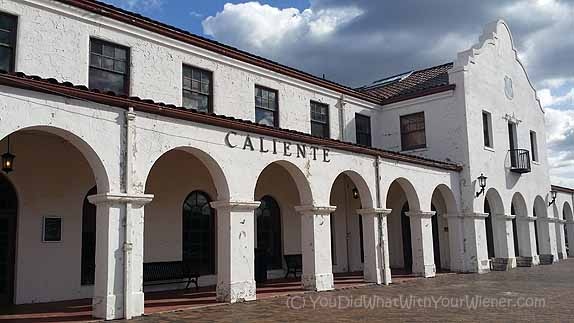 Historic Caliente Train Depot, Nevada