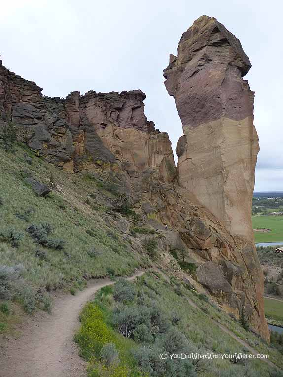 Monkey Face Rock at Smith Rock State Park