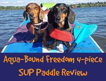 Aqua-Bound Freedom 4-Piece SUP Paddle Review