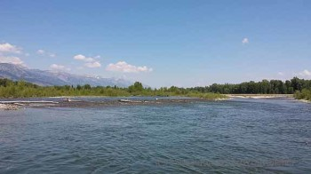 Jackson, Wyoming - Tetons from the Snake River