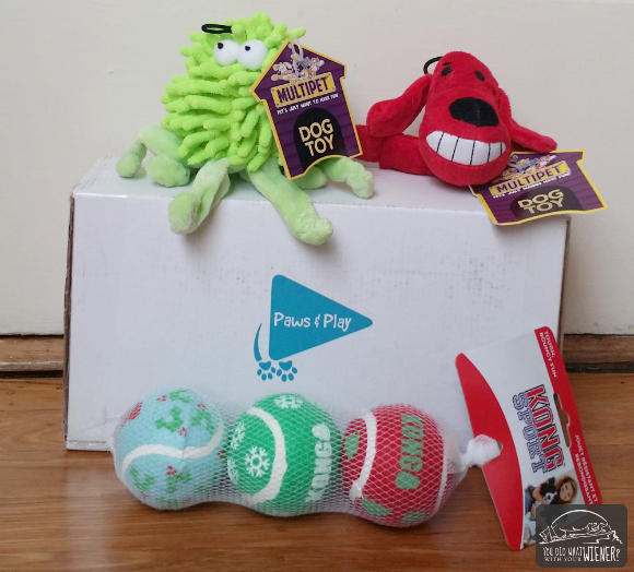 Paws n Play Exclusively Toy Box Contents