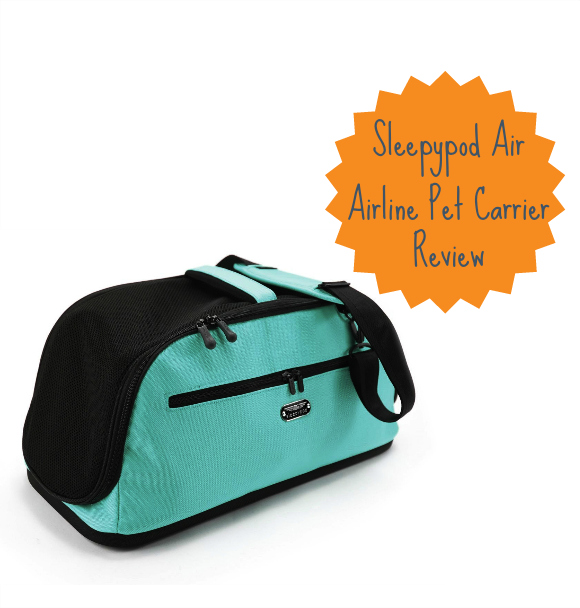 flying with a dog sleepypod air in cabin pet carrier review
