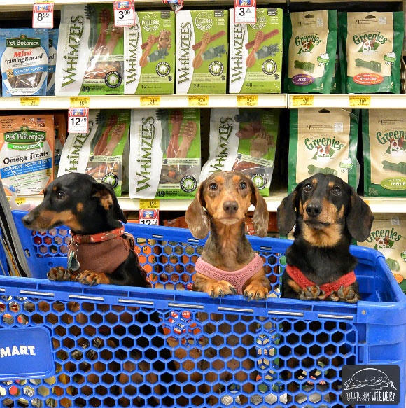WHIMZEES - Three Weenies in a Cart