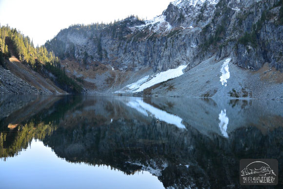 Lake Serene Mountain Reflection