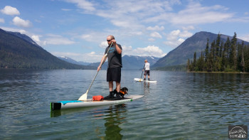 Paddleboarding the Day Away on Lake Wenatchee