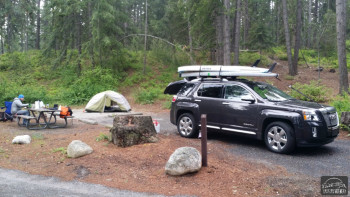Getting Lucky While Camping at Lake Wenatchee State Park