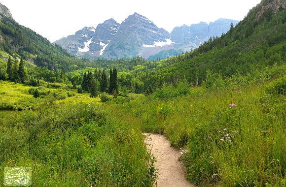 The famous Maroon Bells, Aspen. CO