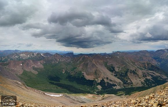 Colorado - Mt. Elbert Panoramic View