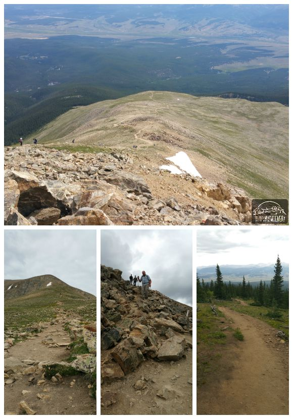 Mt Elbert Trail Collage