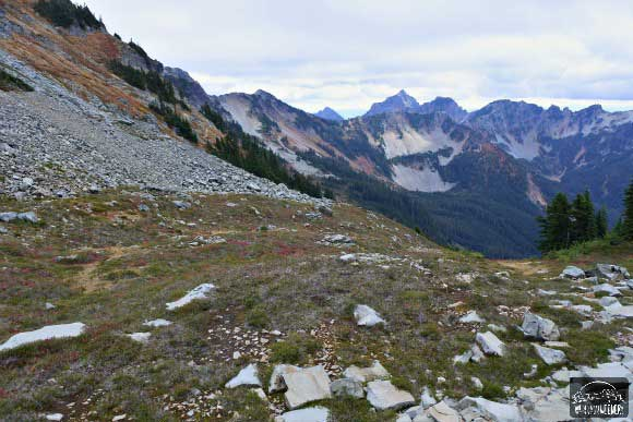 Pacific Crest Trail - Mountain Saddle