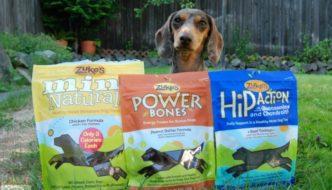Zuke's Power Bones and Hip Action treats