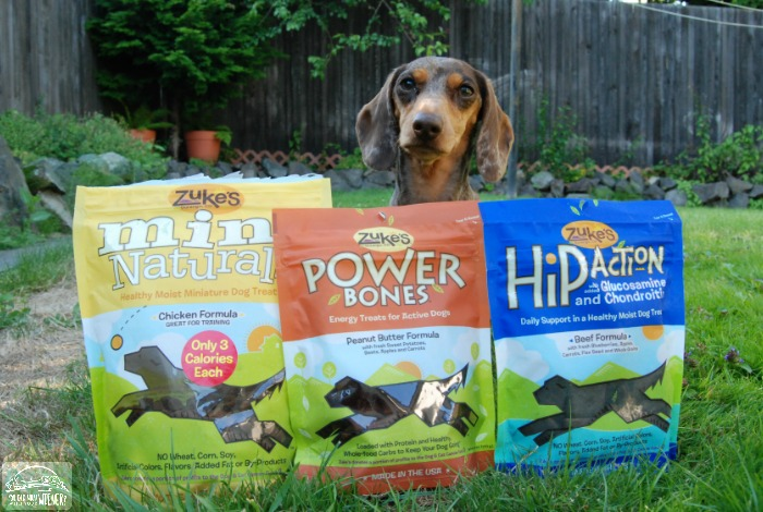 Zuke's Power Bones and Hip Action treats