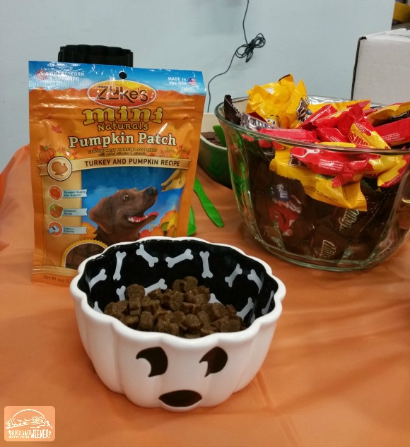 Halloweenie party treats