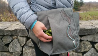 Keep your poop bags in there - the Haiku Go To Convertible Bag