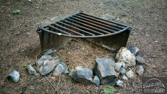Camping Fire Grate Web