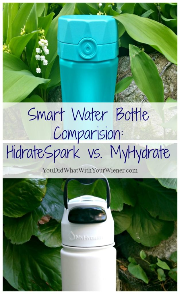 HidrateSpark vs. MyHydrate Smart Water Bottles: Which is Better?
