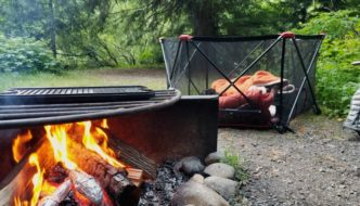 how to keep yellow jackets away while camping