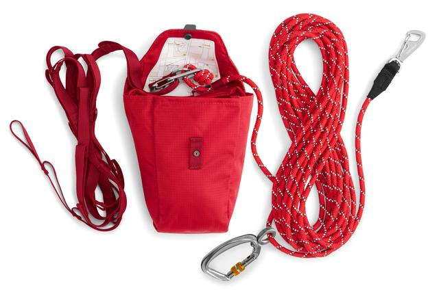 Ruffwear Knot-a-Hitch designed to be used as a tie out for your dog while camping