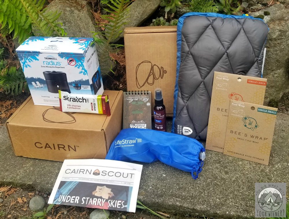 This is everything I received in 3 months worth of Cairn Subscription Boxes in 2018