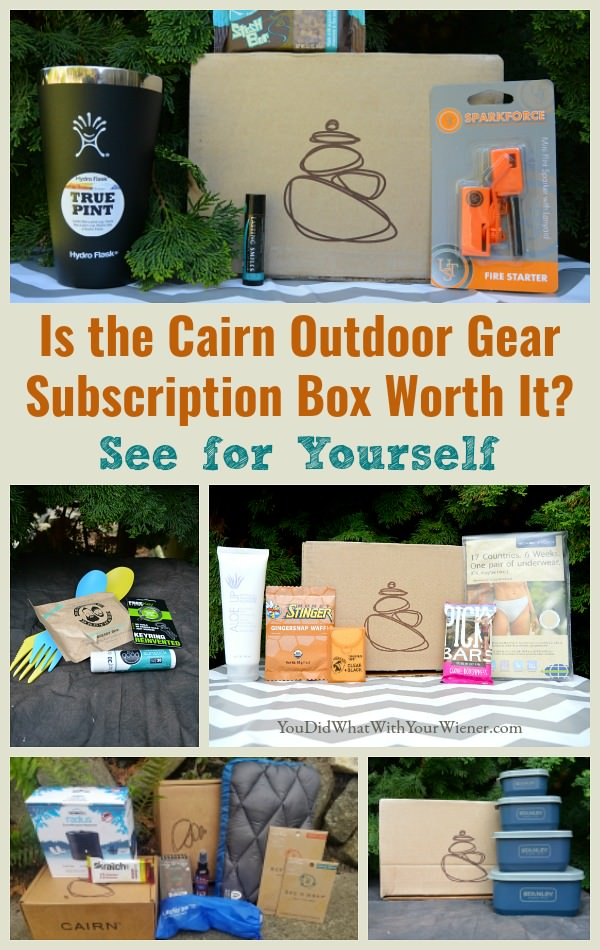 Highlights and options about the Cairn Subscription box