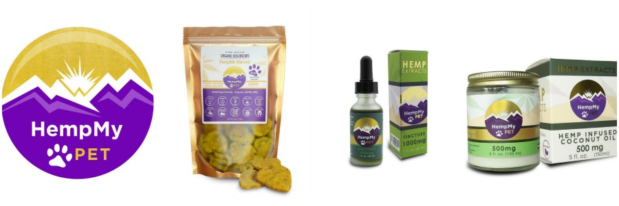 CBD oil and treats from HempMy Pet